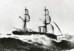 江華島で朝鮮軍と砲撃を交え砲台を占領した「雲揚号」