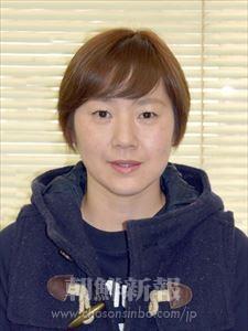 白朱里さん(41、オモニ会会長)