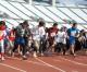 광명성절기념 동포이어달리기, 동서에서 3,600여명이 흥성