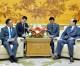 김영남위원장, 몽골대통령민족안전 및 대외정책고문일행들과 담화