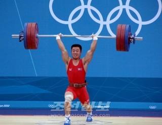 력기 김은국선수