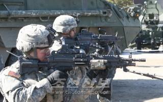 미군 사격훈련