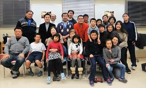 분회 신년회 참가자들